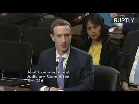 Zuckerberg testifies before senators over data scandal in DC (Part 2)