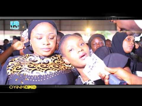 MOJI OLAIYA'S DAUGHTER,BIMBO OSHIN AND AK MEDIA BOSS PAY TRIBUTE TO THE LATE NOLLYWOOD ACTRESS