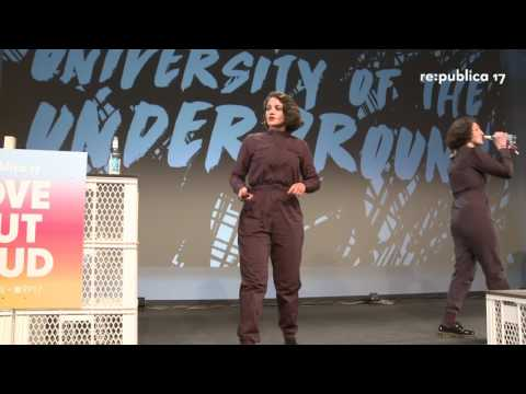 re:publica 2017 - Nelly Ben Hayoun: Designing the Impossible on YouTube