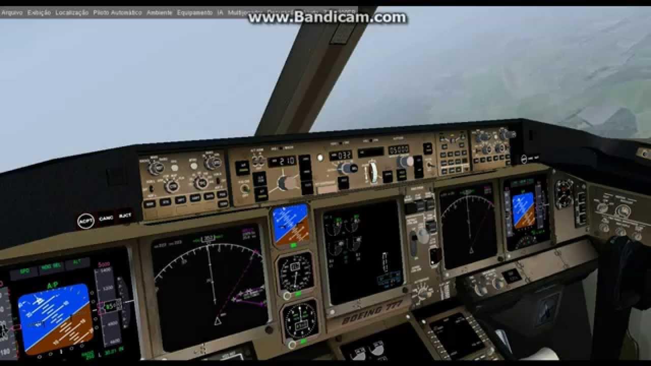 FlightGear 3 2 (HD) / New B777 Full Flight ULLI-EGKK