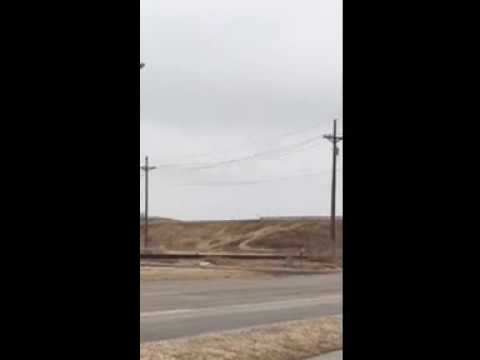 Example of Galloping Wires Near Valley, NE