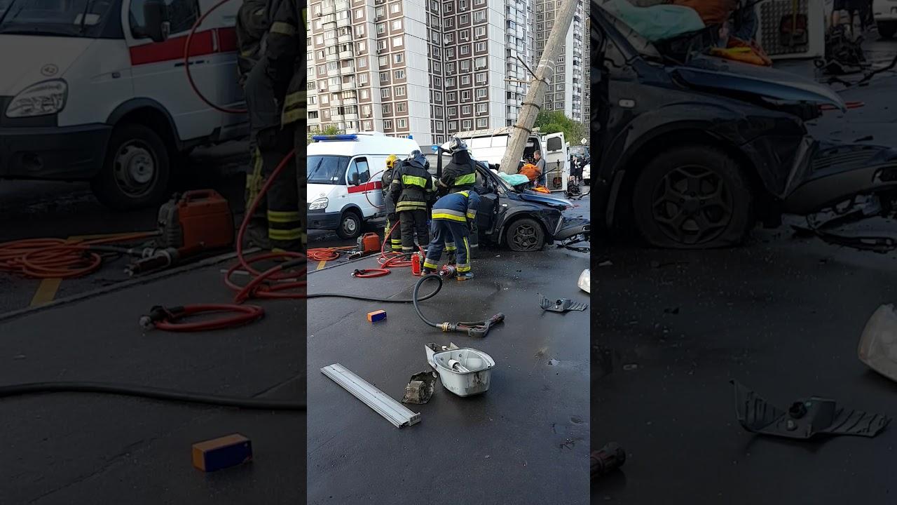 ДТП в Марьино 11.06.2018