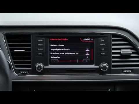 Seat Leon ST FR - multimedia, radio