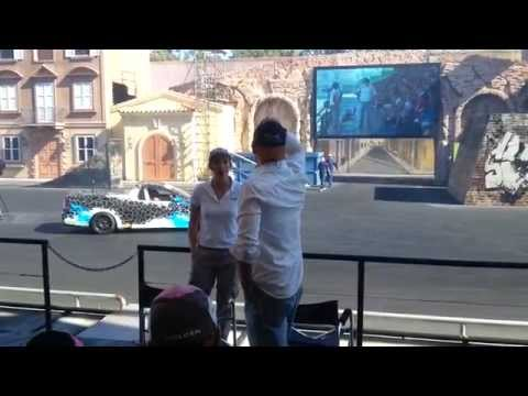 Hollywood Stunt Driver 2 show at Movieworld