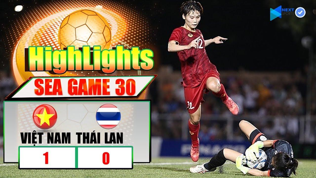 Highlight Việt Nam 1-0 Thái Lan | Tuyển Nữ Việt Nam Đè Bẹp Thái Lan Nghẹt Thở | Vô Địch Sea Games 30