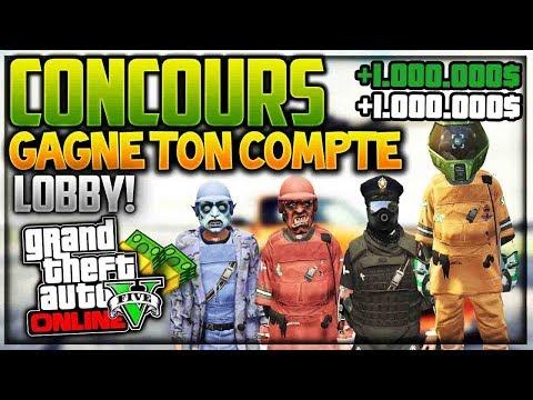GAGNE COMPTE LOBBY GTA 5 ONLINE PS4 DEJA TRANSFER