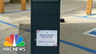 Controversy In California Over Republican-Installed Unofficial Ballot Boxes | NBC Nightly News