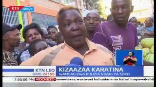 Mvutano kati ya askari wa kaunti ya Nyeri na wafanyabiashara wa tikiti maji