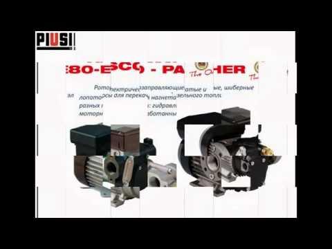 Заправочное оборудование для АЗС и СТО PIUSI в Украине