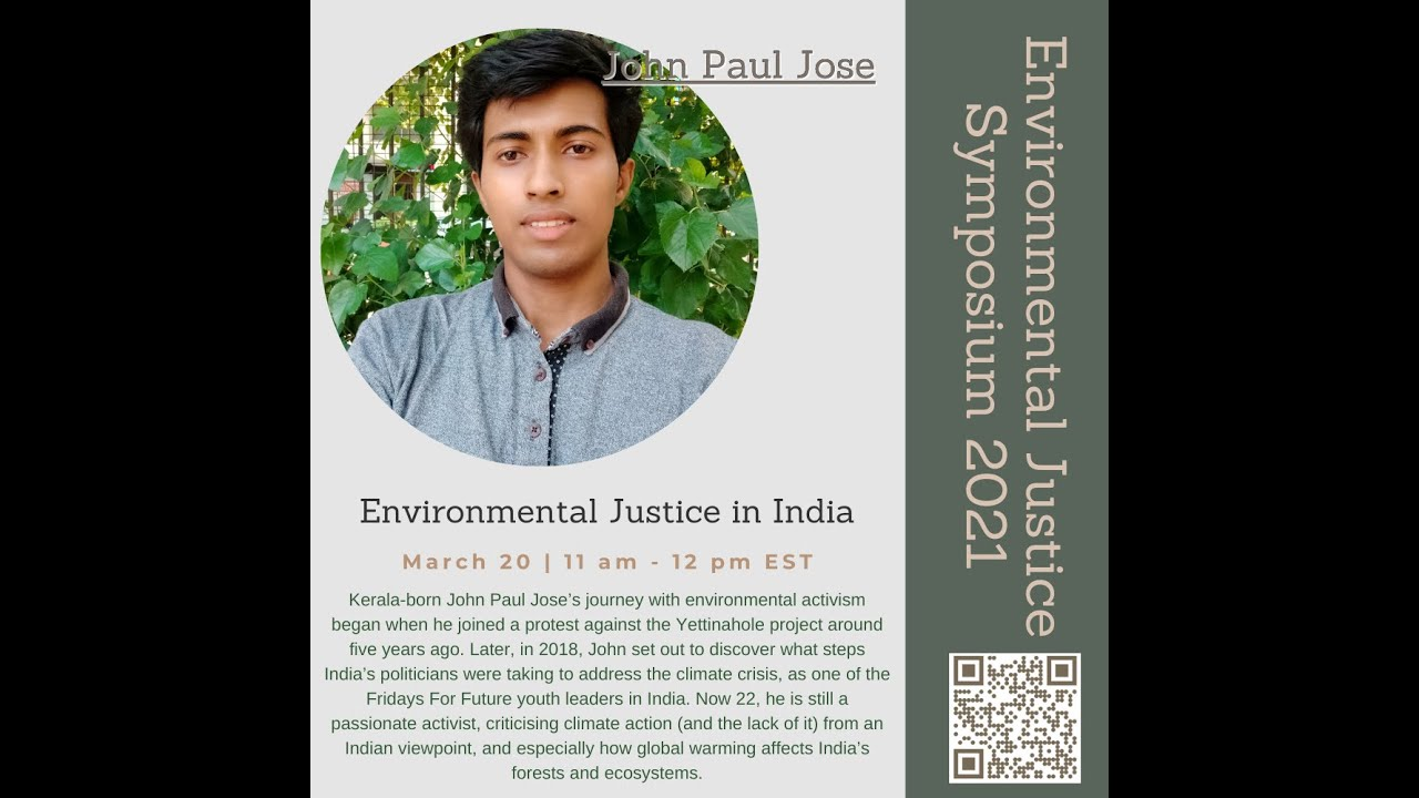 Youth Climate Justice in India by John Paul Jose