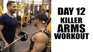 Day12- killer arms work out