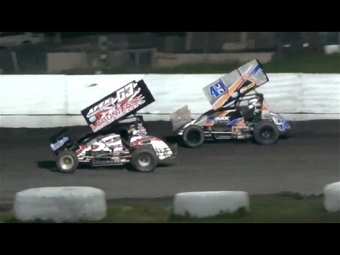 360 Sprints MAIN 4-22-17 Petaluma Speedway