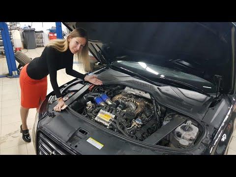 Самая Быстрая Audi A8 в МИРЕ Унизила Мою Tesla. ЕЛЕНА ЛИСОВСКАЯ. Лиса рулит