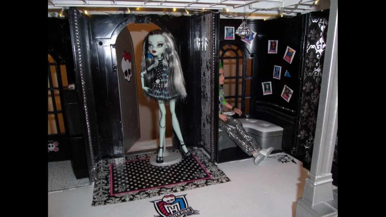 Monster High Custom School Doll House Monster High School