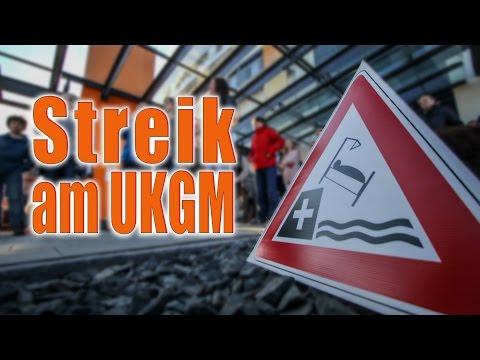 Streik am UKGM