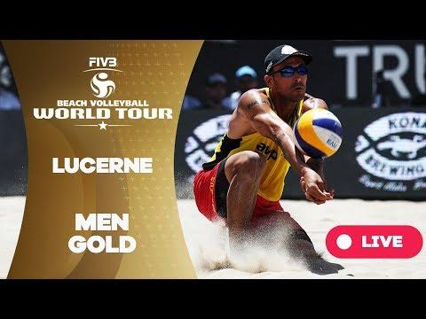 Lucerne - 2018 FIVB Beach Volleyball World Tour - Men Gold Medal Match