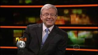 "Kevin Rudd - ""Shake the sauce bottle"" - ROVE"