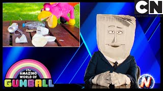 Daisy Gets Into Some Trouble   The News  Gumball   Cartoon Network