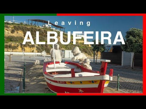 Leaving Albufeira Flying To Toronto