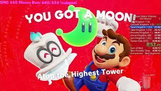 Super Mario Odyssey 503 Moons Speedrun in 4:25:54