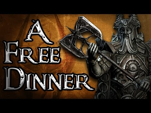 The Storyteller: SKYRIM S1 E4 - A Free Dinner (Elder Scrolls Machinima)