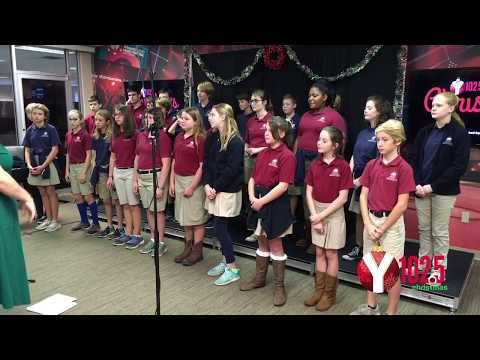 Charleston Christian School Performs on Y102.5's Christmas Live