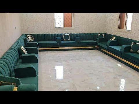 أحدث وأفخم موديلات و تصميمات مجالس عربية مودرن موضة 2021 أجمل جلسات عربية كنب مودرن مساحات واسعة Youtube