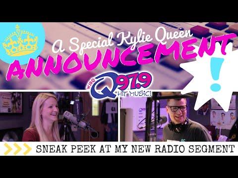 ANNOUNCEMENT: Q Music Scene on Q97.9 || KYLIE QUEEN