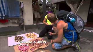 Amazing Race 22 - John and Jessica hilarious mistake