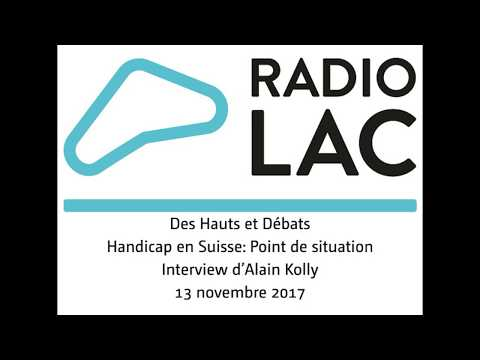 Interview d'Alain Kolly par Radio lac, le 13 novembre 2017
