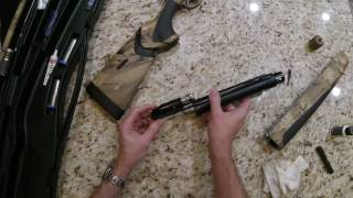 Beretta A400 Xtreme Unico Optifade Disassembly