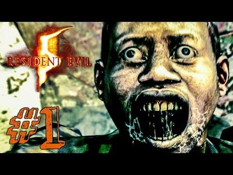 ЖАРА В АФРИКЕ! ► Resident Evil 5 Прохождение #1 ► ХОРРОР ИГРА