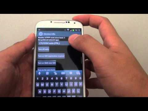 Samsung Galaxy S4: Cannot Set LTE Only Mode on Android 4.3 Update