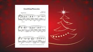 Good King Wenceslas: Christmas piano solo by Julie Lind with free sheet music