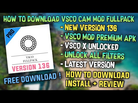 VSCO X Fullpack 2019 - (v136) Latest Version | Vsco X Unlock All Filters | Vsco Mod Premium Apk