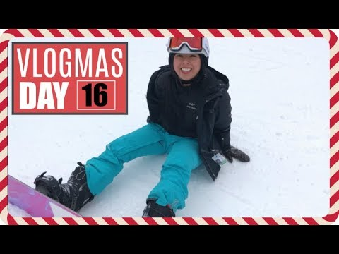 Asian Girl Sees Snow For The First Time! (click bait) | Vlogmas Day 16