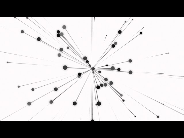 Particles rotation - Free Motion Graphics Backgrund