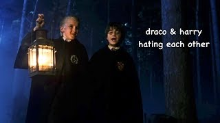 draco & harry hating each other for 3 minutes straight