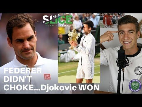 """Federer Didn't Choke"" Wimbledon 2019 Final Reaction   THE SLICE"