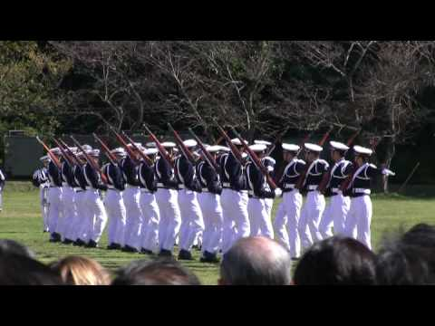 Japanese Cadets' Fancy Drill 防衛大学校儀仗隊ドリル演技
