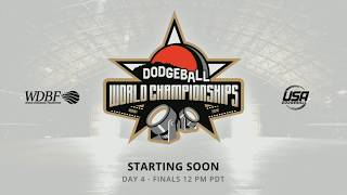WDBF World Dodgeball Championships 2018 - Finals