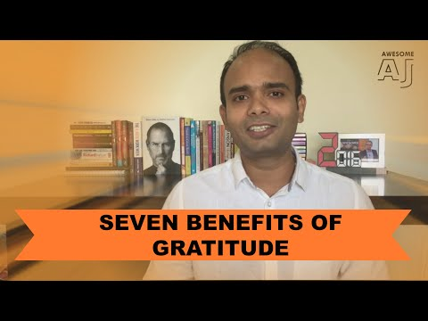 7 Scientifically Proven Benefits of GRATITUDE - Start Using Gratitude And Law of Attraction