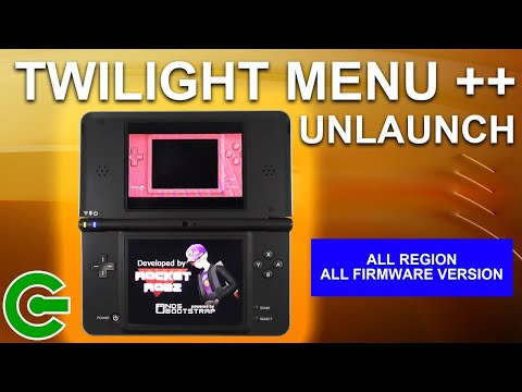 Installing TWILIGHT MENU ++ Unlaunch On Nintendo DSi