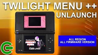 Installing TWILIGHT MENU ++ Unlaunch on Nintendo DSi