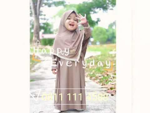 0811 111 4588 Jual Baju Gamis Anak Perempuan Terbaru Usia 4 5 6 7 8 10 Tahun Youtube