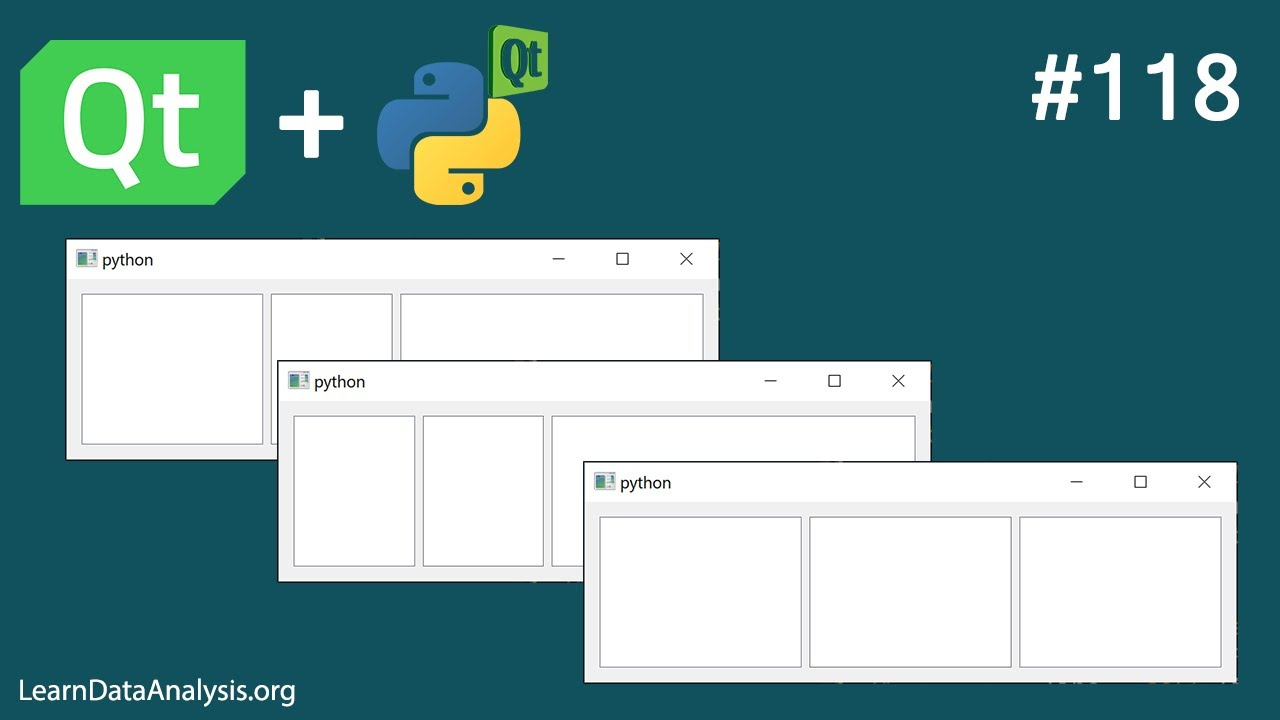 How to adjust QHBoxLayout columns ratio with PyQt5
