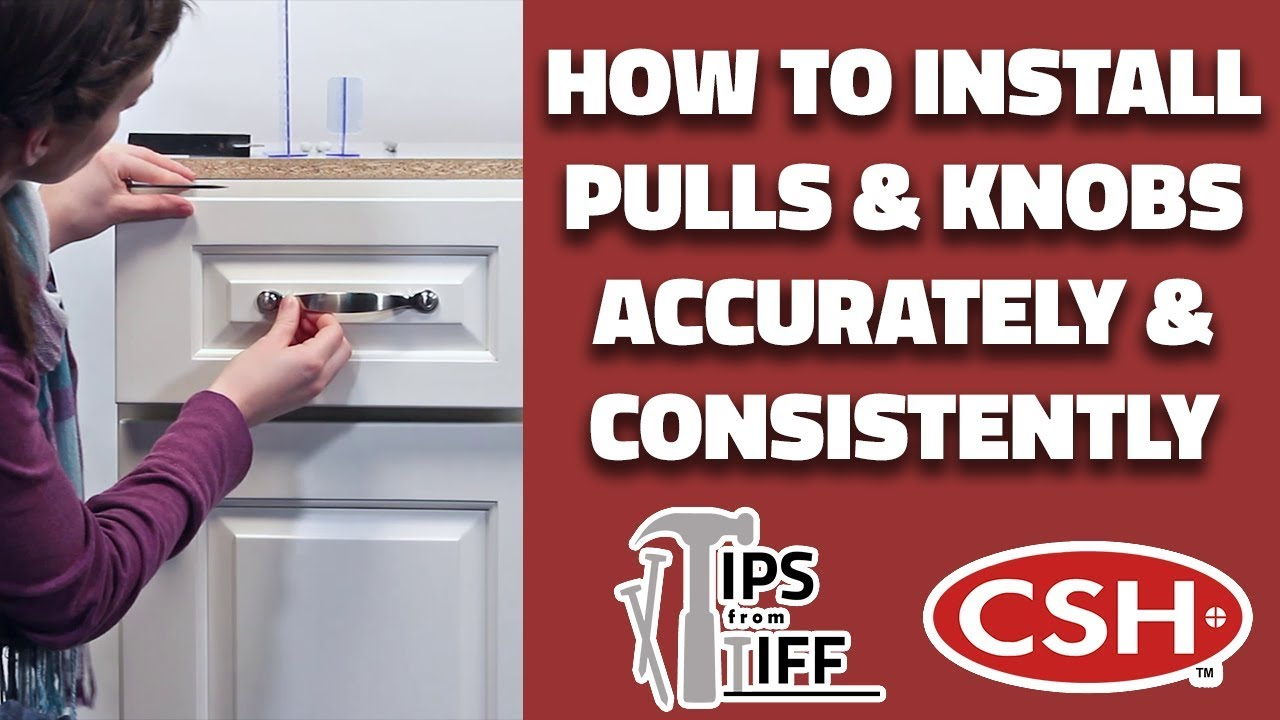 How To Install Kitchen Cabinet Pulls And Knobs Accurately And Consistently Tips From Tiff 11 Youtube