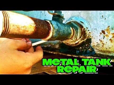 how to prepare to weld a fuel tank