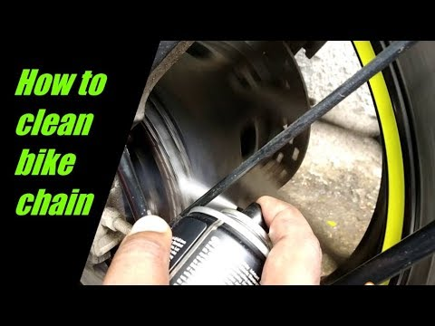 How to clean bike chain | improve chain sprocket life span
