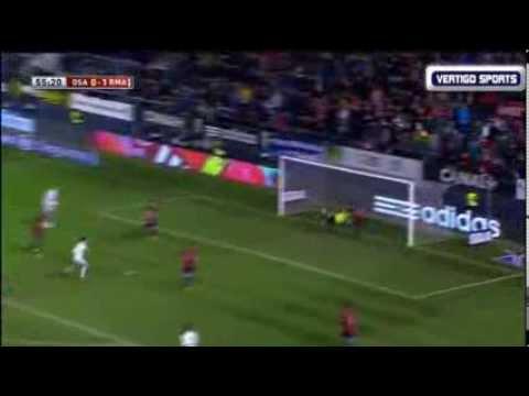 Angel Di Maria Goal - Osasuna vs Real Madrid 0-2 Copa Del Rey (15/01/2014)